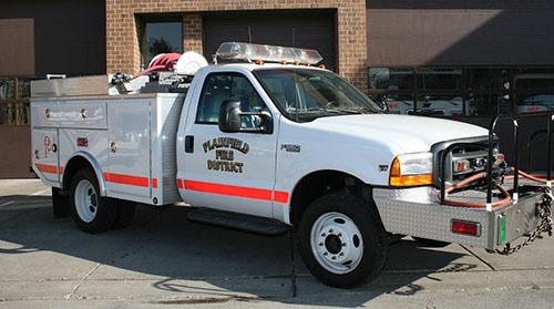 1999 Brush Truck