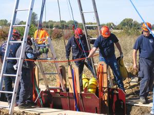 photo of hazardous material training