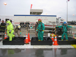 photo of hazardous material training