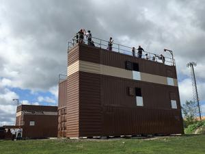 Non Burn Training Building