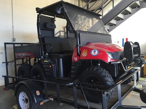 MABAS ATV Vehice