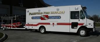 PFPD Water Rescue Vehice