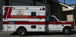 1996 Fire Investigation Vehicle