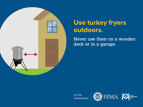 fire tip: use turkey fryers outdoors
