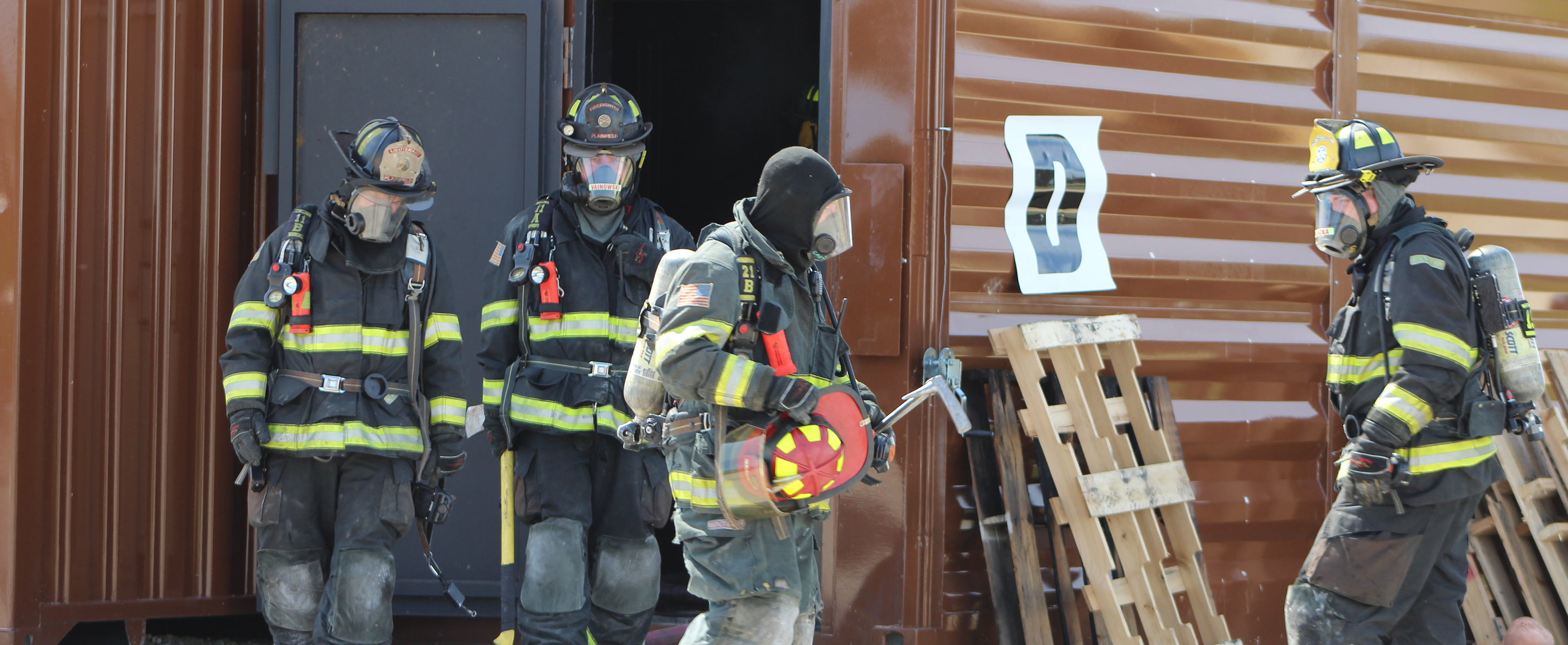 live fire training in training towers