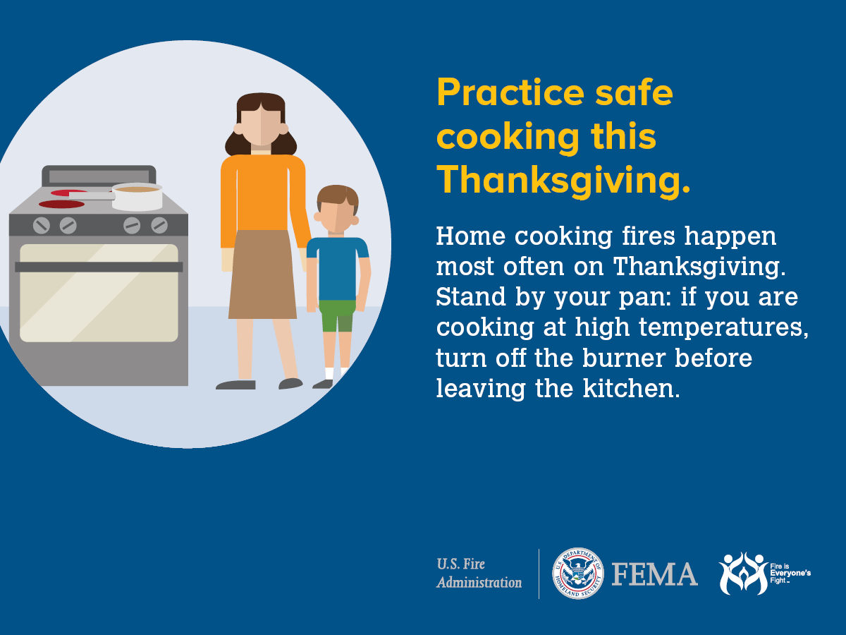 Thanksgiving Cooking Safety – Plainfield Fire Protection District
